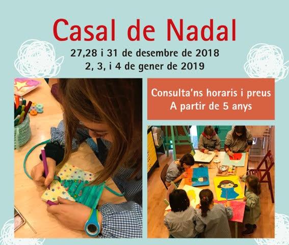 casal de Nadal per a nens a Barcelona